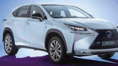 2015 Lexus NX Revealed In New Leaked Images Ahead Of Beijing Debut