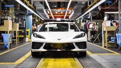 General Motors has just built its 1.75-millionth Corvette