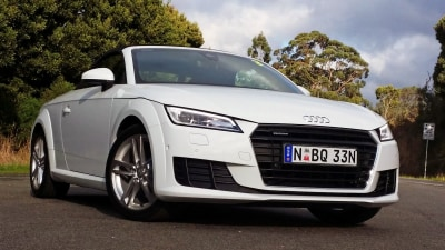 2015 Audi TT Roadster Review: Carving Corners Like A Switchblade