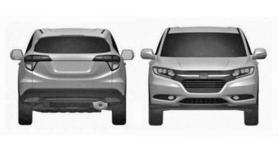 Honda's New Compact SUV Surfaces In Leaked Patent Images
