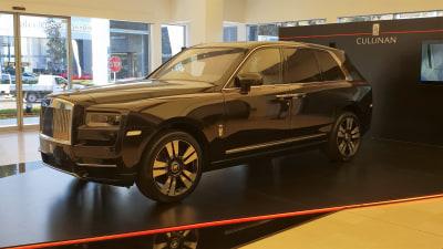 Rolls-Royce Cullinan arrives in Oz