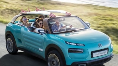Citroen's beach buggy Cactus revealed