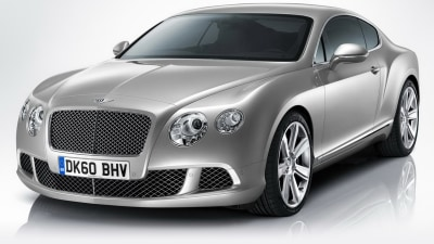 Bentley Continental GT V8 Bound For Detroit: Report