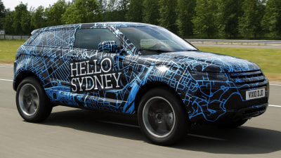 Range Rover Evoque To Appear At 2010 Australian International Motor Show