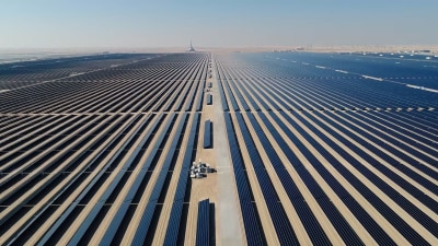 World's largest solar park to produce aluminium for BMW