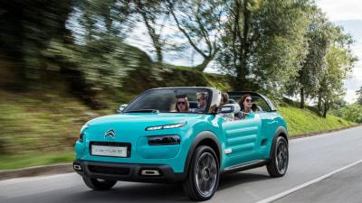 Citroen Drops The Top On Cactus M Concept
