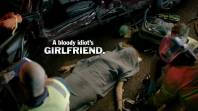 Video: Victoria's TAC Launches New 'Bloody Idiot' Drink-driving Campaign