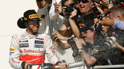 2012 US F1 GP: Lewis Hamilton Takes Sensational US Grand Prix Victory