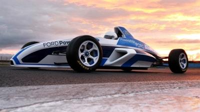 Frankfurt: 2012 Formula Ford With EcoBoost Technology