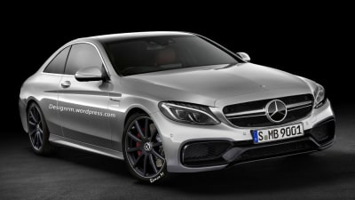 New Mercedes C63 AMG Coupe Rendered