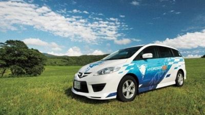 Mazda Premacy Hydrogen RE Hybrid Commercial Leasing Now Underway In Japan