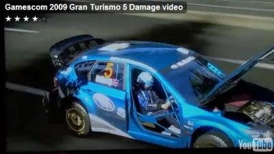 Gran Turismo 5 Damage Rendering Revealed: Video