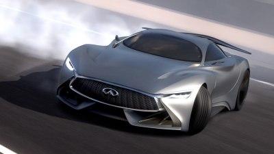 Infiniti 'Concept Vision Gran Turismo' Makes Virtual Power-sliding Debut: Video