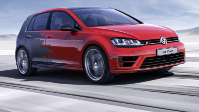 Volkswagen Golf R Gets Techy New Interior For CES