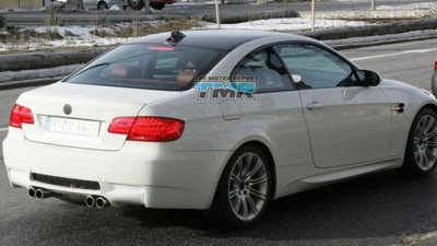 2010 BMW M3 Coupe Spied Testing Sans Camouflage