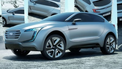 Subaru Viziv SUV Concept Is a Diesel-electric All-Wheel-Drive Hybrid
