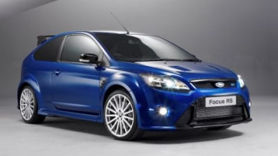 2009 Ford Focus RS Production Begins