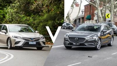 Toyota Camry Hybrid Ascent vs Mazda 6 Sport