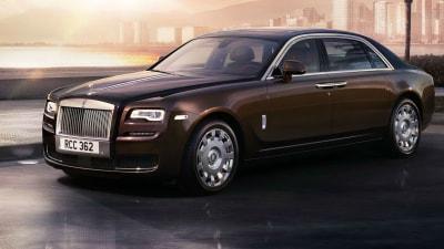 Rolls-Royce Ghost Series II Unveiled In Geneva, In Australia From Q4