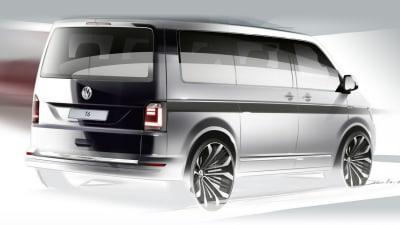 All-New Volkswagen Transporter Teased, Debut Due In April