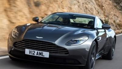 Aston Martin unwraps new DB11