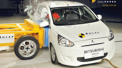 ANCAP: 5 Star Safety For New Mitsubishi Mirage, VW Beetle And Ford Kuga