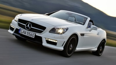 2012 SLK 55 AMG Unveiled, Australian Debut In Early 2012