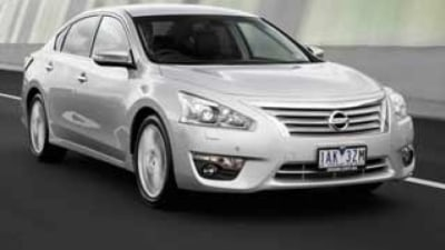 Nissan Altima TI-S new car review
