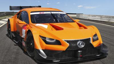 Lexus LF-CC And Honda NSX Super GT 500 Racers Revealed