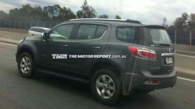Holden Colorado 7 Spotted In Melbourne