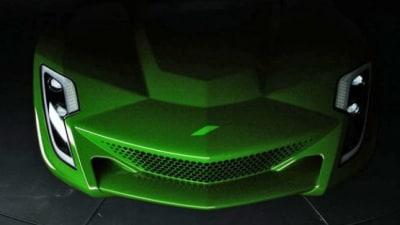 Bertone's Project M Based Upon Corvette ZR-1