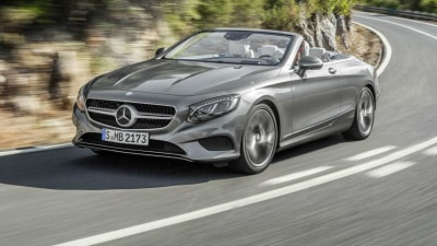 Mercedes-Benz S-Class Cabriolet Officially Revealed