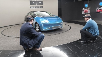 Ford Design Studios Step Into The Future With 'Mixed Reality' Tech