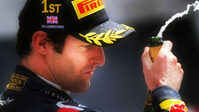 2012 British F1 GP: Mark Webber Storms To Victory
