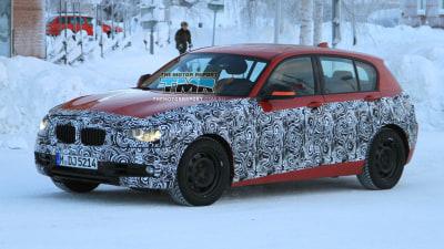 2012 BMW 1 Series Spied Testing