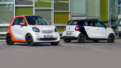 2015 Smart ForTwo, ForFour: New Twins Revealed