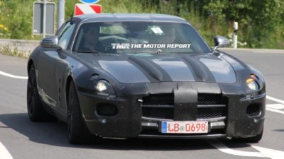 2011 Mercedes-Benz SLS AMG To Go Electric In 2015: Report