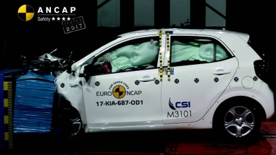 ANCAP - Kia Picanto Scores 4-Star Safety Rating | 5-Stars For Mazda CX-5 And C-Class Cabriolet