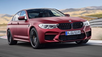 BMW M5 sold out, Competition coming