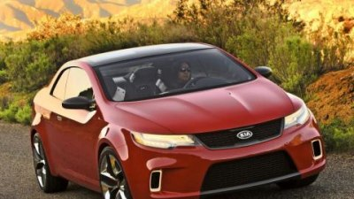 Kia KOUP concept - a sneak peak at future Kia design direction