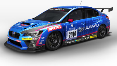 Subaru WRX STI Racer Revealed, Destined For Nurburgring 24-Hour Enduro