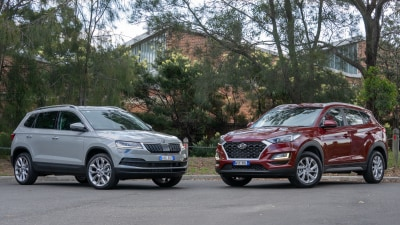 Skoda Karoq v Hyundai Tucson Head to Head review
