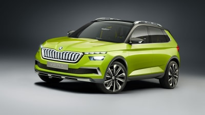 Skoda Vision X Concept Previews City SUV
