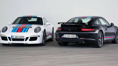 Porsche 911 Martini Debuts To Celebrate Le Mans Return