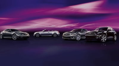 Infiniti To Make Public Debut At Australian F1 GP Ahead Of August Launch