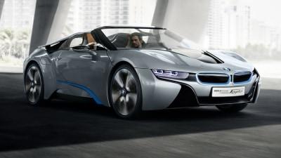 BMW i8 Concept Spyder Debuts In Beijing, eDrive Announced