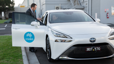 Toyota delivers its first Mirai hydrogen car to CSIRO