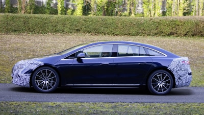 2021 Mercedes-Benz EQS confirmed for April reveal