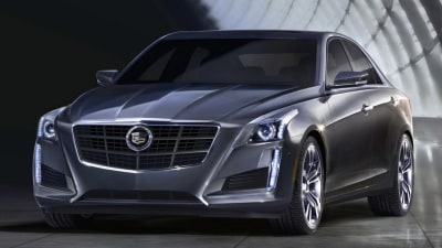 2014 Cadillac CTS Revealed As New Complete Images Surface