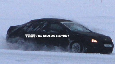 2011 Peugeot 508 Spied Cold-Weather Testing